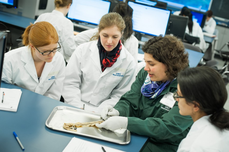 Flexible Learning is currently offered in Neuroanatomy, where videos explaining and illustrating curriculum content are produced.  Students are expected to watch and review the content at home, while the reinforcing work is done in the classroom.